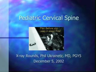 Pediatric Cervical Spine