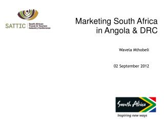 Marketing South Africa  in Angola & DRC