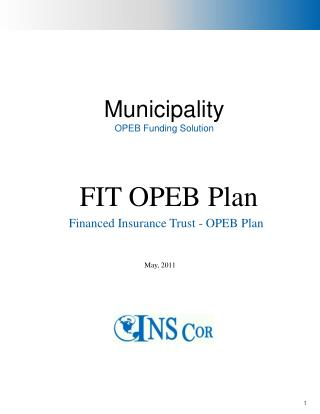 Municipality OPEB Funding Solution