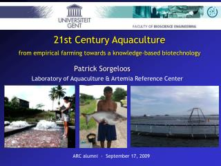 21st Century Aquaculture from empirical farming towards a knowledge-based biotechnology
