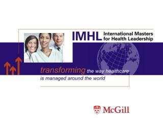 Introducing the IMHL