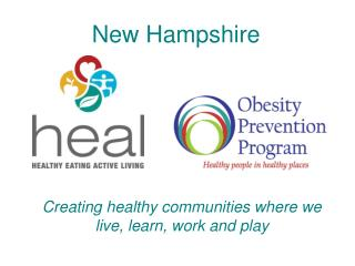 Creating healthy communities where we live, learn, work and play