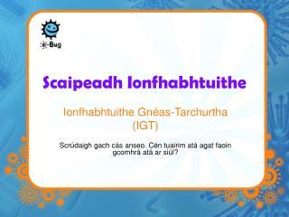 Scaipeadh Ionfhabhtuithe