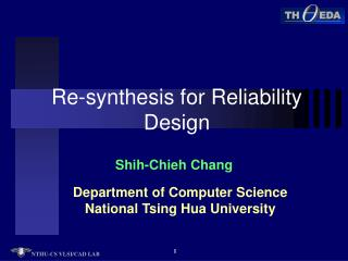 Re-synthesis for Reliability Design