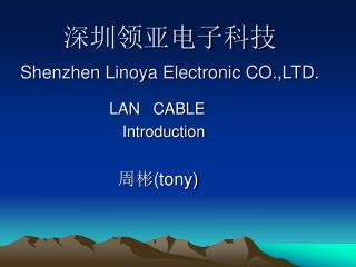 深圳领亚电子科技 Shenzhen Linoya Electronic CO.,LTD.