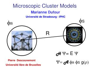 Microscopic Cluster Models