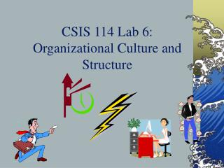 CSIS 114 Lab 6: Organizational Culture and Structure