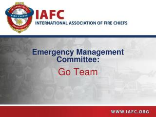Emergency Management Committee: