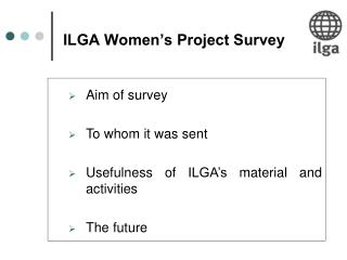 ILGA Women's Project Survey