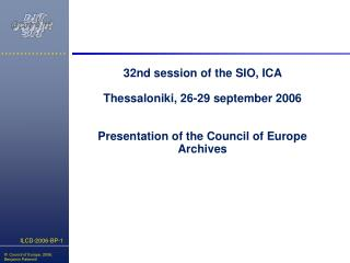 What is the Council of Europe ?