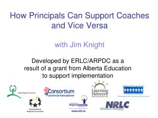 How Principals Can Support Coaches  and Vice Versa  with Jim Knight