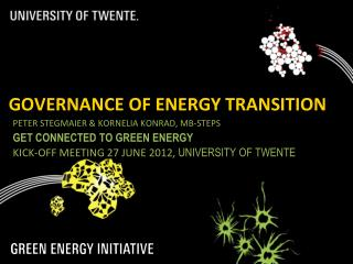 Governance of Energy Transition