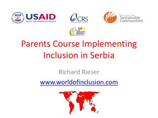Parents Course Implementing Inclusion in Serbia