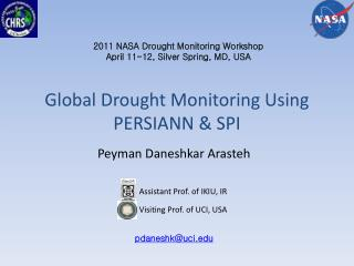 Global Drought Monitoring Using PERSIANN & SPI