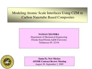 Modeling Atomic Scale Interfaces Using CZM in  Carbon Nanotube Based Composites
