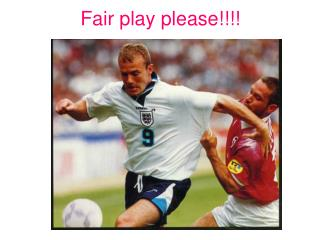 Fair play please!!!!