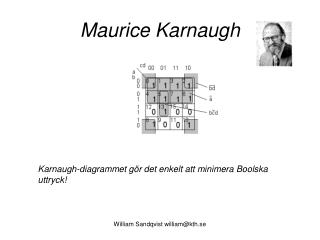 Maurice Karnaugh