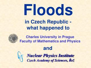 Charles University in Prague Faculty of Mathematics and Physics