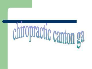 chiropractor canton ga_2
