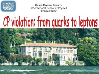 CP violation: from quarks to leptons