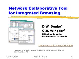Network Collaborative Tool for Integrated Browsing