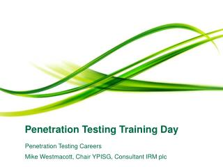 Penetration Testing Training Day