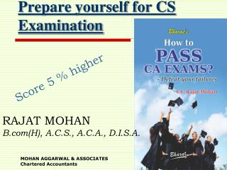 Prepare yourself for CS Examination