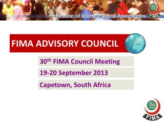 30 th  FIMA Council Meeting