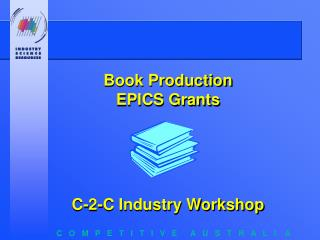 Book Production  EPICS Grants