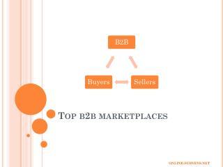 Top 10 Growing B2B Sites