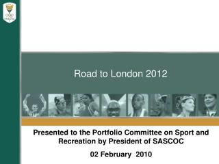 Road to London 2012