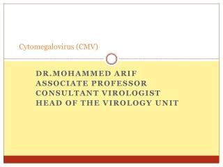 AIDS-related Cytomegalovirus GI disease