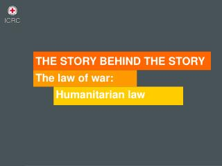The law of war: