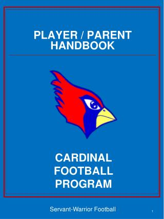 PLAYER / PARENT HANDBOOK