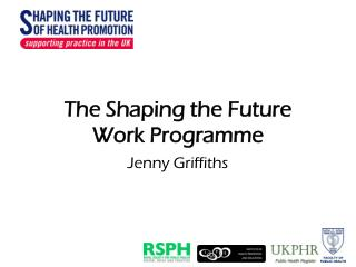The Shaping the Future Work Programme