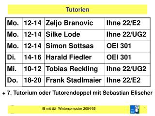 Tutorien