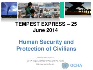 Human Security and Protection of Civilians