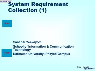 System Requirement Collection (1)