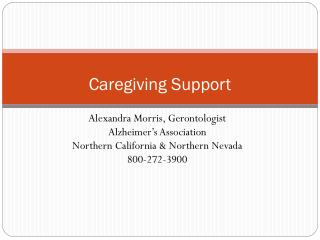 Caregiving Support