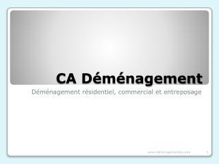 CA Déménagement