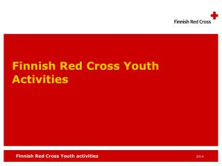 Finnish Red Cross Youth  Activities