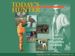 Chapter One Introduction To Hunter Education