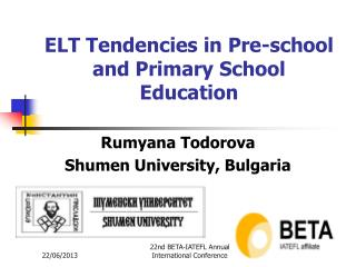 ELT Tendencies in Pre-school and Primary School Education
