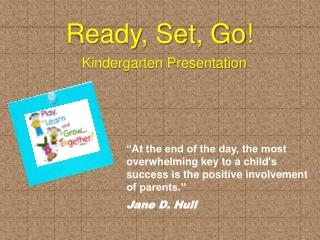 Kindergarten Presentation