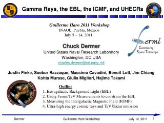 Gamma Rays, the EBL, the IGMF, and UHECRs