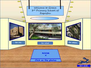 Welcome to Greece 3 rd  Primary School of Zografou
