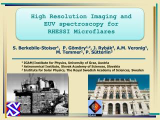 High Resolution Imaging and  EUV spectroscopy for  RHESSI Microflares