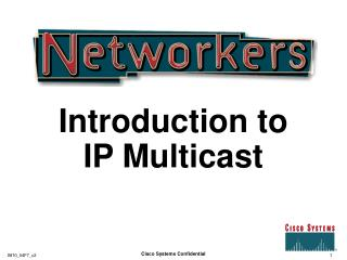 Introduction to IP Multicast