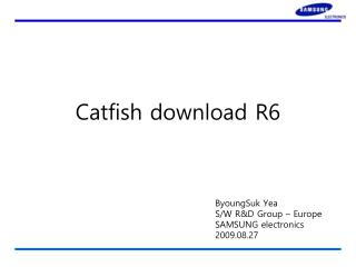 Catfish download R6