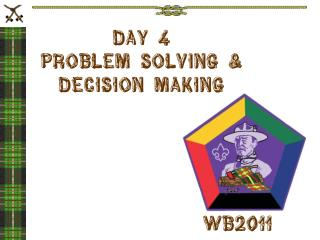 Day 4 Problem Solving & Decision Making